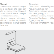 letto scomparsa ulisse dining