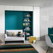 letto a scomparsa altea sofa 120 con divano o poltrona (1)