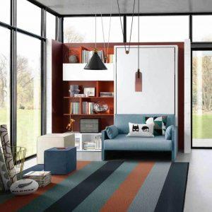 letto a scomparsa altea sofa 120 con divano o poltrona (2)