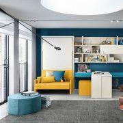 letto a scomparsa altea sofa 120 con divano o poltrona (4)