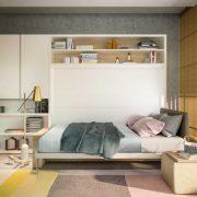 letto a scomparsa circe sofa con letto orizzontale