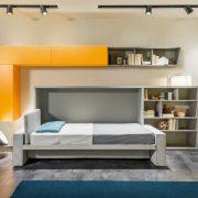 letto a scomparsa kali sofa con divano incorporato
