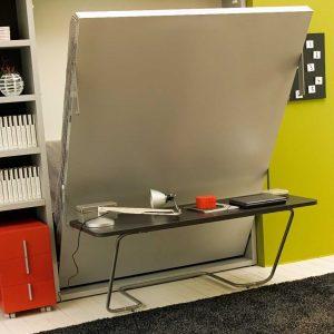 letto a scomparsa ulisse desk con scrivania abbattibile