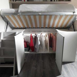 letto soppalco container dielle singolo